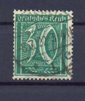 DR 181 Freimarke 30 Pfg. Wz. Waffeln gestempelt geprüft (dt111)