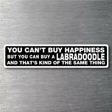 Buy a Labradoodle sticker quality 7 year water & fade proof vinyl pup dog breed