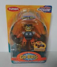 Playskool Transformers Go-Bots Strong-Bot Invisibility Force Clear - RARE