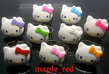 Wholesale 50 PCS/Lot mixed Cat variety of Children Resin Open Rings