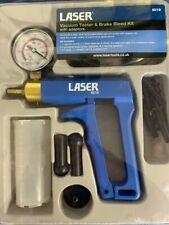 Laser 8018 Vacuum Tester Amp Brake Bleed Kit Wth Adaptors