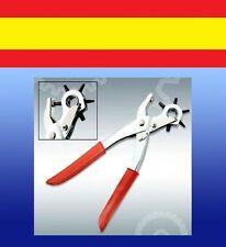 AGUJEREADOR de CUERO piel perforador Relojes cinturones tool herramienta leather