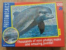 Dolphin Jigsaw. 1000 Pieces. Photomosaics. BNIB. Gift Idea