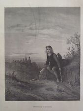 Gustave Dore London A Pilgrimage Whittington At Highgate Engraving 1872