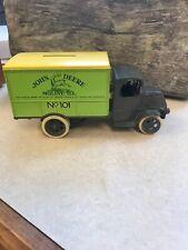 Ertl Diecast John Deere 1926 Mack Bulldog Delivery Van Bank Pre-owned