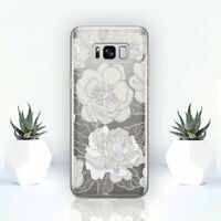 Flowers Samsung S8 S9 Plus Silicone Cover Nature Samsung S6 S7 Edge S10 Case