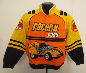 SPEED RACER JACKET YOUTH XL BOYS CARTOON MACH 5 CHIM CHIM SPRITLE TRIXIE NEW