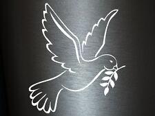 1 x 2 Plott Aufkleber Friedenstaube Taube Frieden Freedom Peace Freiheit Sticker