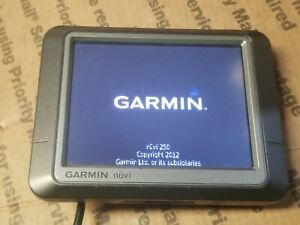 Garmin Nuvi 250 GPS Unit Screen ONLY Tested 0729