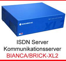 KOMMUNIKATIONSSERVER ISDN SERVER BINTEC BIANCA/BRICK XL2 ROUTER MIT KARTEN