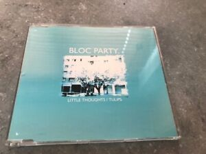 BLOC PARTY LITTLE THOUGHTS / TULIPS /BANQUET SINGLE UNPLAYED WEBB067SCD