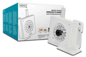 23x Digitus Wireless LAN WLAN IP-Kamera HD Nachtsicht Überwachungskamera Posten