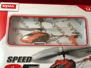 NEW Syma Speed 5 3 channel Speed Remote Control Helicopter w/ Gyroscope System