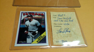 1988 O-PEE-CHEE Dave Winfield Proof  Graded 9 WTR MINT Only 200 Made NY Yankees