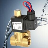 """G3/4"""" Normally Open Brass Electric Solenoid Valve for Water Air 1.6Mpa 232psi GB"""