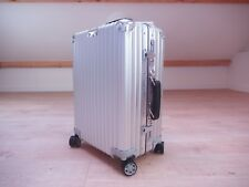 d1cea6dc1ceb RIMOWA Classic Cabin Multiwheel 35l Carry-on Aluminium 2018 Made in Germany