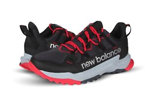 """New Balance Shando """"Outerspace"""" Men's Hiking Sneakers in Black with Red MTSHAMB"""