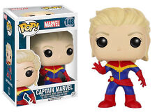 "MARVEL CAPTAIN MARVEL 3.75"" VINYL FIGURE POP BRAND NEW FUNKO 148"
