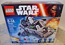 LEGO STAR WARS FIRST ORDER SNOWSPEEDER SET #75100 - Sealed, Imperfect Box