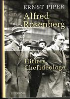 Alfred ROSENBERG HITLERS Chefideologe  Ernst Piper gebundene Ausgabe Neuwertig