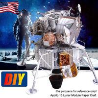 3D Paper Model Kit For Apollo 13 Lunar Module Paper Craft Kit DIY High