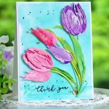 Tulipa DIY Metal Cutting Dies Stencil Scrapbooking Die Cuts Paper Card Decor