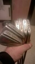 Lot of 6 Vintage Goudie Stylist Forged Blade Irons gc