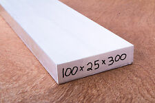 ALUMINIUM Flat Bar 100x25x300mm LONG 6060-T5 Mill/Lathe/CNC/Hobby/Weld
