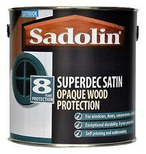 Sadolin Superdec Satin Opaque Microporous Paint 2.5 LT (All Colours Available)
