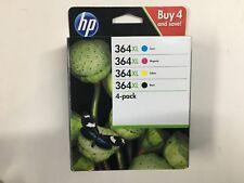 4-Pack original HP Tintenpatronen 364XL Black Yellow Cyan Magenta 03/19 Rechnung