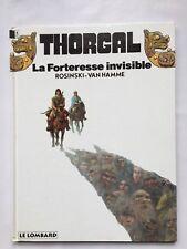 THORGAL LA FORTERESSE INVISIBLE 19 / BD EO 1993 / ROSINSKI VAN HAMME LE LOMBARD