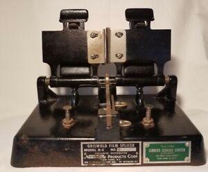 Vintage Antique Griswold Film Splicer Model  R-2  35 MM motion Film