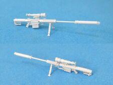 Legend 3D076 1/35 Barrett M107 Sniper Rifle w/QDL Supressor Set