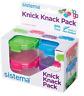 Sistema To Go Knick Knack Pack 62 ml - Multi-Colour Pack of 4