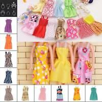 Dolls Set Pieces Barbie Doll Dresses Shoses &Hangers Clothes and jewellery 26pcs