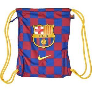 NEW - Nike Mens FCB Barcelona Stadium Gymsack - 30 X 40cm
