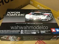 Tamiya 1/24 TOYOTA TOM'S 84C Full display Model Kit 24289 Sports Car Series