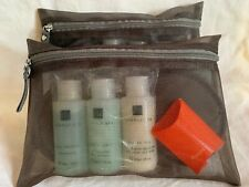 2 First Business Class Amenity Kits Scandinavian Airlines Temple Spa