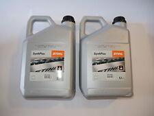 2002 Stihl SynthPlus Sägekettenöl Sägekettenhaftöl Kettenöl 2x 5 Liter Kanister