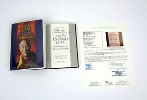 His Holiness The Dalai Lama Signed Autograph How To Expand Love Book JSA COA