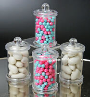 12 COMMUNION BAUTIZO BABY SHOWER BIRTHDAY PARTY FAVORS CANDY MINI CONTAINERS