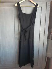 NEW WHISTLES BLACK CLARA WRAP DRESS UK SIZE 8