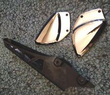 2006 Suzuki Katana 600 Sprocket Foot Peg Bracket Cover Chain Guard
