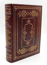 THE DIVINE COMEDY BY DANTE ALIGHIERI - FRANKLIN LIBRARY ~ THE 100 GREATEST BOOKS