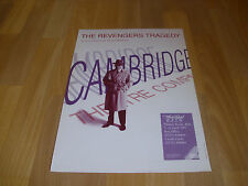 The REVENGERS Tragedy Cambridge Company 1992 Theatre Royal BATH  Original Poster