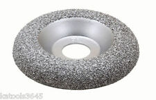 TUNGSTEN CARBIDE SANDING & SHAPING DISC FAST EFFICIENT  ROUND PROFILE #11024