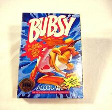 NEW SEALED Bubsy Sega Genesis Video Game For Sega and Mega Drive System