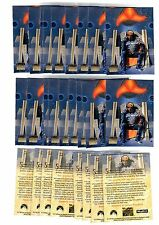 1X 1994 STAR TREK Skybox Master #S2 PROMO Worf Bulk Lot availabl Next Generation