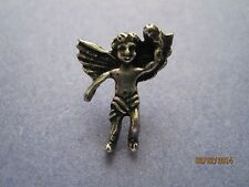 *LOT of 10* - Football Angel Sports Wings Tie Tac Pin - Jewelry - NEW - Silver