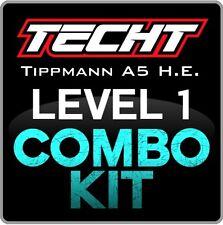 TECHT Tippmann A5 H.E. (Select Fire) Level 1 Combo Kit Paintball Marker Upgrade